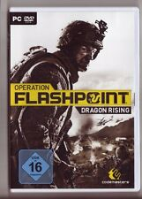 Operation FLASHPOINT DRAGON RISING Shooter 220 km² ambiente enorme gioco PC