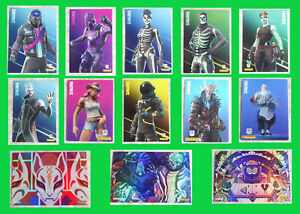FORTNITE RELOADED Panini, Trading Card Game, SERIE 2 , Auswählen, 251 - 315