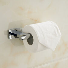 Brass Toilet Paper Towel Roll Holder Bathroom Wall Mount Rack Chrome Polished