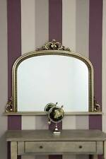 Chatsworth - V Large Champagne Silver Overmantle Mirror 4ft2 X 3ft 127x91 Cm