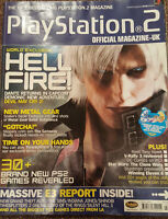 OFFICIAL UK PLAYSTATION 2 MAGAZINE ISSUE NO.22--HELL FIRE COVER