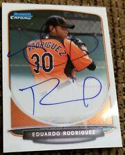 2013 BOWMAN CHROME EDUARDO RODRIGUEZ RED SOX AUTO RC
