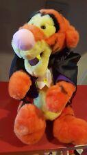 "Disney 14"" Vampire Tigger Full Size Plush Toy original tags Halloween Fangs Cape"