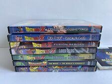 Dragon Ball Z Dvd Lot Of 7 Kid buu Vegeta Lord Slug Super Android 13! Fusion