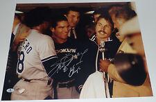 STEVE GARVEY SIGNED AUTO'D 16X20 PHOTO BAS COA LOS ANGELES DODGERS 1981 WS CHAMP