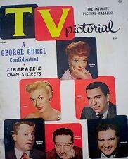 Lucille Ball Magazine 1955 TV Pictorial V1N1 Premiere Issue Desi Ronald Reagan