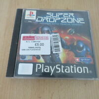 Super Dropzone ps1 Sony Playstation  1 PAL