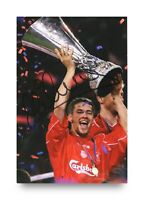 Michael Owen Signed 6x4 Photo Liverpool England Manchester United Autograph +COA