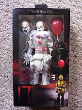 IT PENNYWISE FIGURE STEPHEN KING NECA NEW !