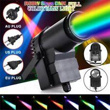 Punktstrahler Pinspot Bühnenlicht 30W RGBW LED Bühnenbeleuchtung DMX512 Disco DJ