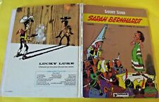 LUCKY LUKE. Ancien Album Sarah Bernhardt