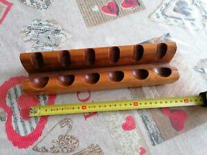 Porta Pipe Pfeife Pipe Savinelli Originale Legno Massello portapipe massiccio