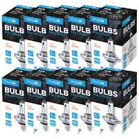 10 x 12V 60/55W H4 472 P43t Car Halogen Headlamp Fog Dip Beam Headlight Bulbs