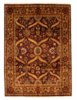 "Hand-Knotted Carpet 8'0"" x 10'0"" Traditional Oriental Wool Area Rug"