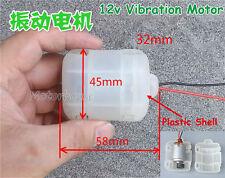 DC 12V Vibrating Vibration Vibrator Motor With Plastic Shell for Massage Cushion