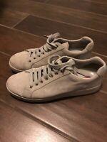 PRADA Sneakers Shoes Women's Size Gray EUR 39 - No Box