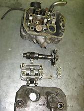 honda  650  deauville rear  head