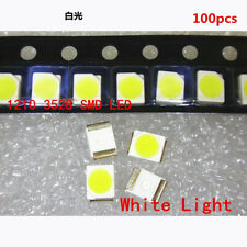 100pcsset 3528 White Ultra Bright Light Diode 1210 Smd Led Wholesale Lots