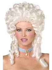 Long White Curly Wig, Fever Boutique Baroque Wig, Fancy Dress Accessory. #AU