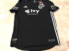 Adidas Authentic MLS Sporting Kansas City 2018 Secondary Black Team Jersey XL