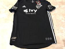 Adidas Authentic MLS Sporting Kansas City 2018 Secondary Black Team Jersey L