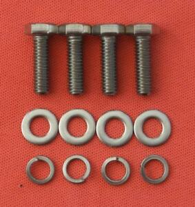 LOTUS FORD CROSSFLOW TWIN CAM REAR COVER stainless steel hex head bolt kit