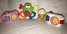 Fisher Price Laugh & Learn Cameras Ice Cream Cone & Silly Frog Counting Music