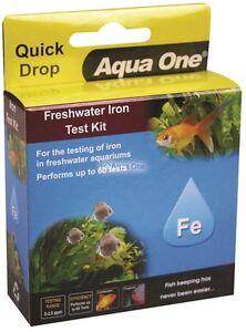 Aqua One Quick Drop Iron Test Kit