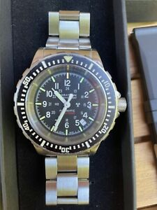 Marathon GSAR WW194006. Stainless Steel Bracelet+ Black And Green Straps