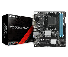 ASRock 760gm-hdv Mainboard Am3 Sockel Amd760g Motherboard