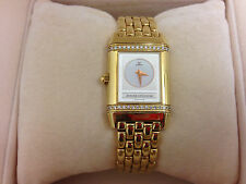 Jaeger-LeCoultre Reverso Duetto Watch 18K Yellow Gold