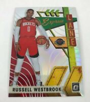 2019-20 Optic Russell Westbrook Express Lane Silver Holo Foil Parallel #7