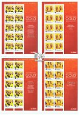 2008 Beijing Olympic Games GOLD MEDAL Set of 14 SHEETLETS MNH, HARD-TO-GET!