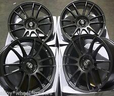 """18"""" GM SUZUKA ALLOY WHEELS FITS 5X98 ALFA ROMEO 147 156 164 GT FIAT 500L DOBLO"""