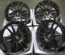 "18"" GM SUZUKA CERCHI IN LEGA ADATTA 5x98 ALFA ROMEO 147 156 164 GT FIAT 500l DOBLO"