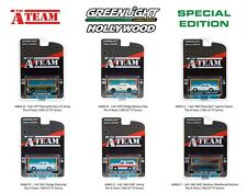 Greenlight Hollywood Special Edition, A-Team Tv Series, Set of 6 1:64 Diecasts
