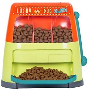 Outward Hound Lucky Dog Slots Interactive Doy Toy Puzzle for Dogs