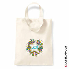 PERSONALISED Name Favour Party Gift Canvas Tote Bag | Star Burst