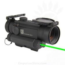 HOLOSUN HS401G5 Red dot & Green Laser Dot / GREEN Laser / Flip-Backs / CR123A