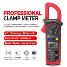 Digital Clamp Meters Acdc Voltage Current 600v True Rms Multimeter Megger Teste