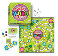 The Great Word Race Board Game Spelling Alphabet Abc Spell Words Letters