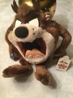 "12"" Applause Looney Tunes NWT Tazmanian Devil"