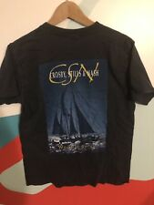 Crosby Stills And Nash Wooden Ships T Shirt Size M, Vtg Tour T Shirt Happy Smile