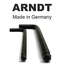 Ball End Allen Key Keys 10mm 25/64'' Alen Alan Hexagonal Hex Key ARNDT BLACK 300