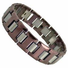 Tungsten Carbide Magnetic Link Bracelet