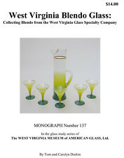 West Virginia Glass Specialty Co. Blendo Glassware Reference Book