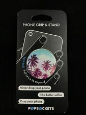 AUTHENTIC PopSockets Phone Grip PopSocket Universal Phone Holder - Palm Trees