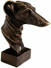Whippet Dog Cast Iron Sculpture Replica Reproduction