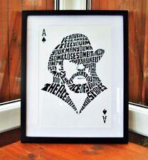 Motorhead/Lemmy/Ace Of Spades A3 size typography art print/poster