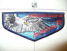 OA Timuquan Lodge 340,S-54, 2008 ArrowCorps5, Eagle Right Flap,West Central FL